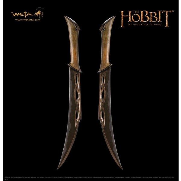 Le Hobbit La Désolation de Smaug réplique 1/1 dagues de Tauriel 48 cm