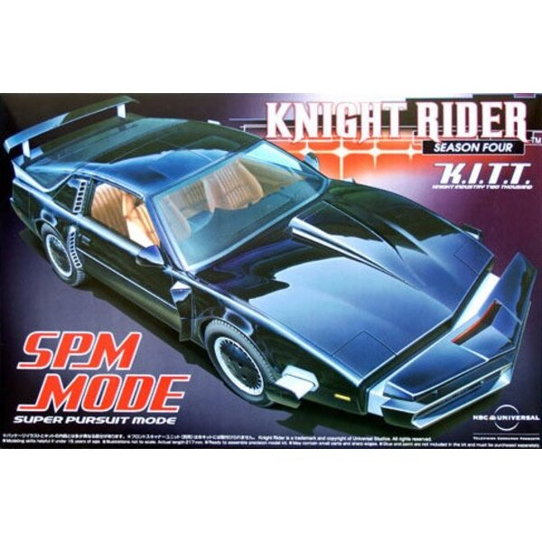 Knight Rider maquette 1/24 K.I.T.T. SPM Mode Season 4