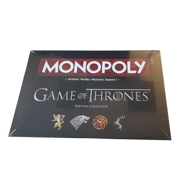 Le Trône de fer jeu de plateau Monopoly *FRANCAIS*
