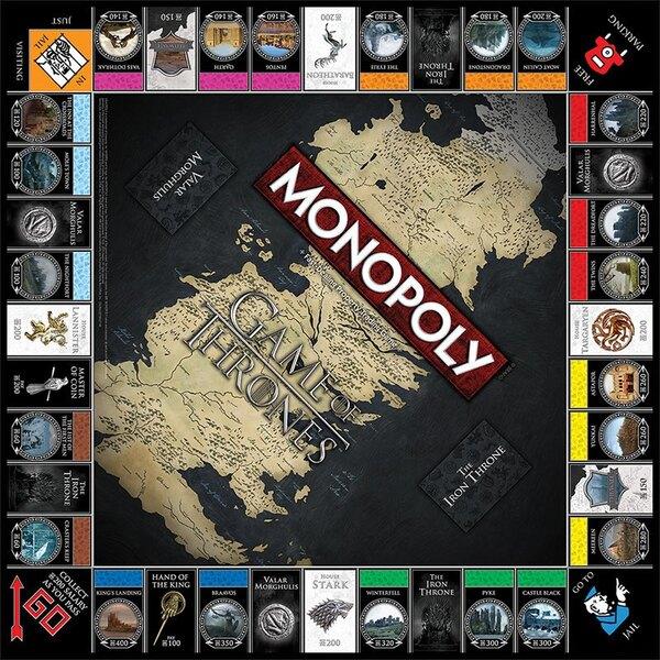 Le Trône de fer jeu de plateau Monopoly Collectors Edition *ALLEMAND*