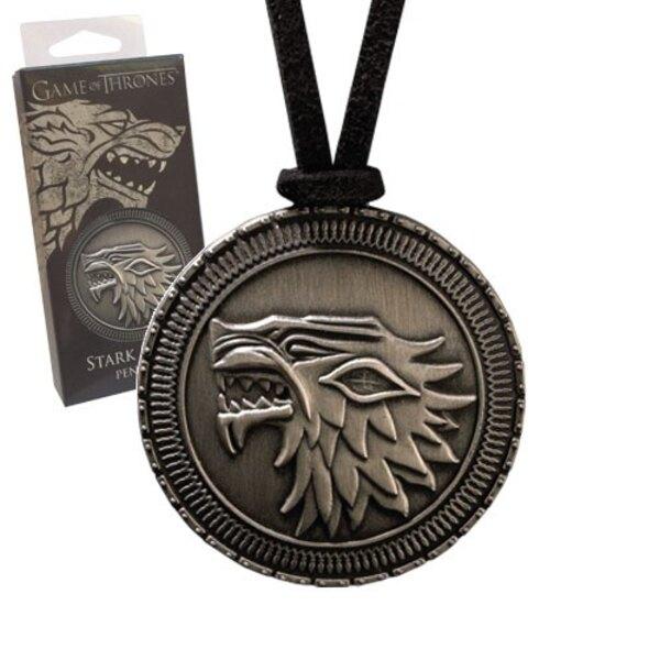 Le Trône de fer pendentif avec lanière Stark Shield