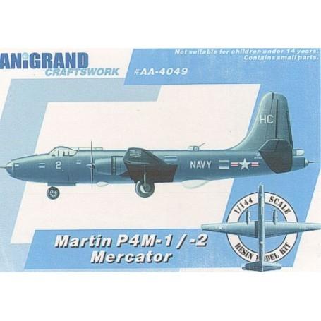 Martin P4M-1/-2 Mercator. Inclut maquettes en prime de Grumman XTB2F-1 le Destroyer de Douglas XSB2D-1 Brewster SB2S-4 Buccaneer