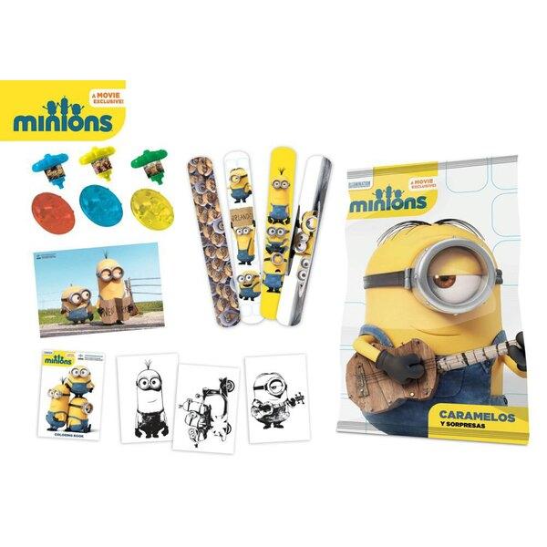 Minions présentoir pochettes-surprise (12)