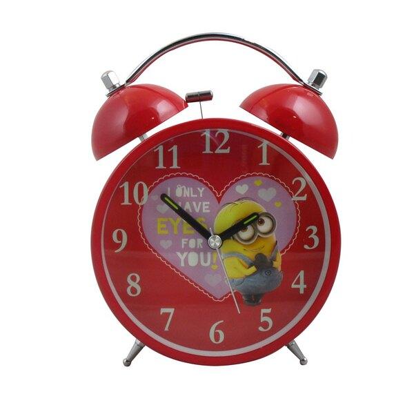 Minions réveil Valentines