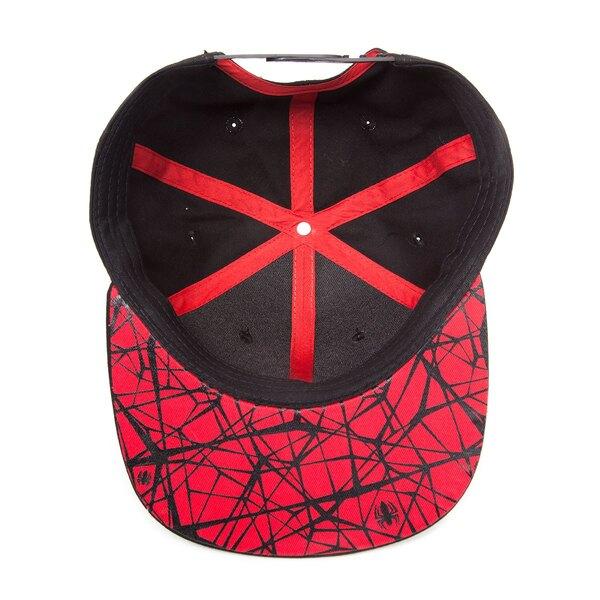 Spider-Man casquette hip hop Snap Back Ultimate Spider-Man Logo