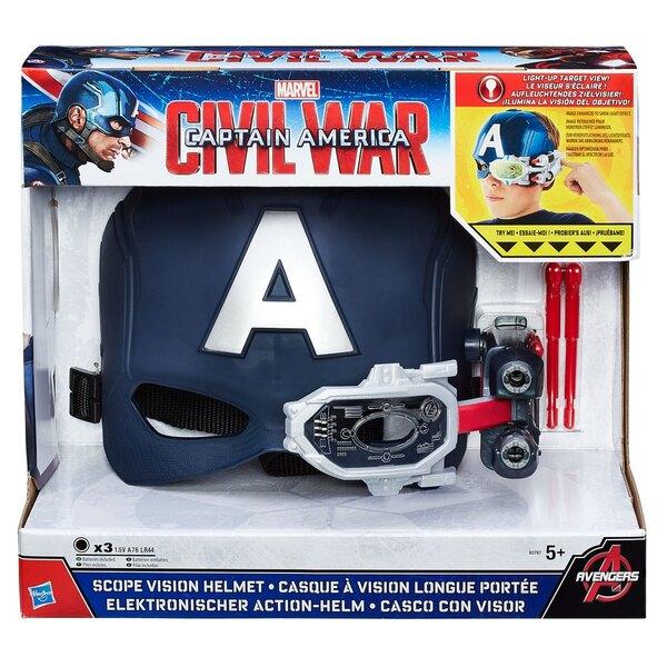 Captain America Civil War casque à vision longue portée