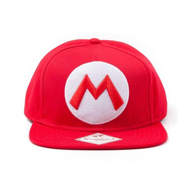 Nintendo casquette hip hop M Logo