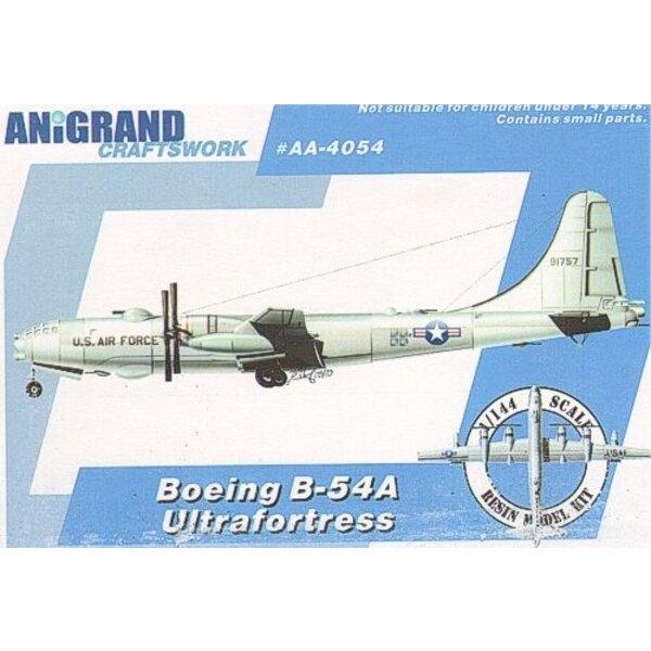Boeing B-54A Ultraforteress. Inclut maquettes en prime de Northrop YF-17 Cobra Douglas XF6D Missileer & McDonnell XHJD Whirlaway
