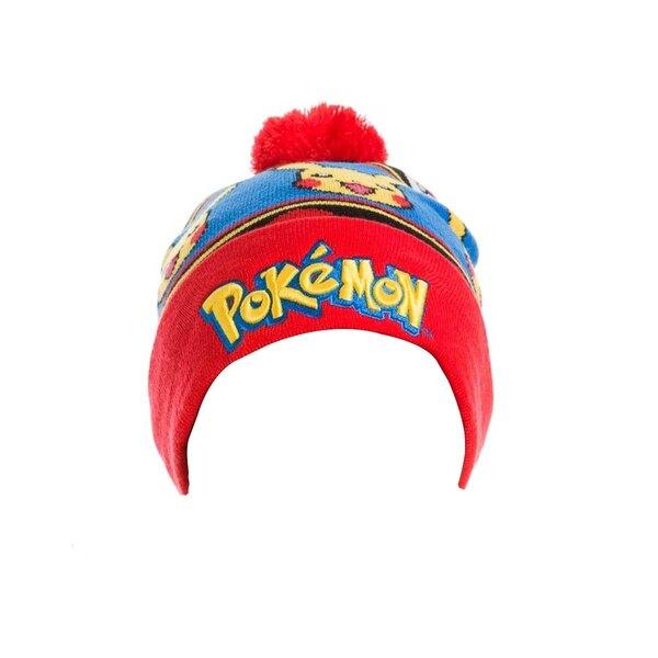 Pokemon bonnet Logo & Pikachu
