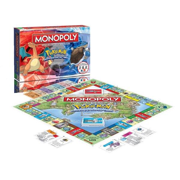 Pokemon jeu de plateau Monopoly *ALLEMAND*