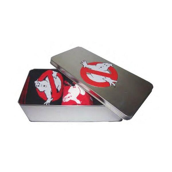 SOS Fantômes pack 3 paires de chaussettes avec boite métal