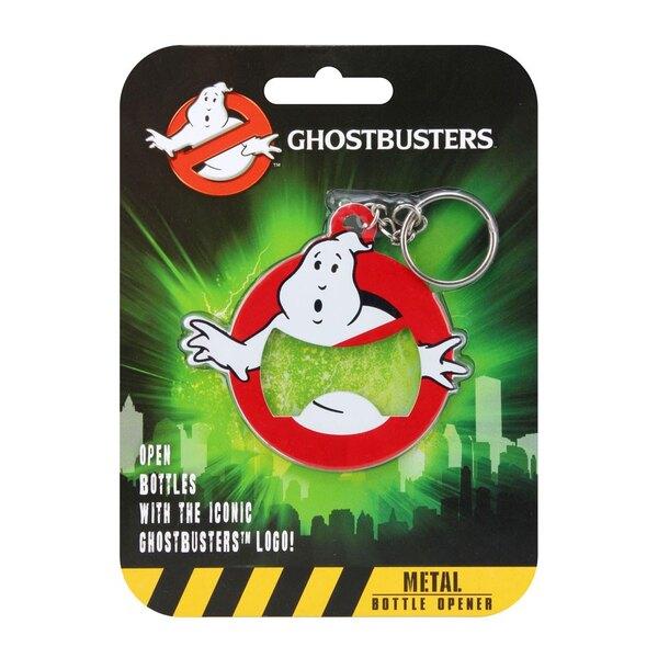 SOS Fantômes porte-clés avec décapsuleur Logo