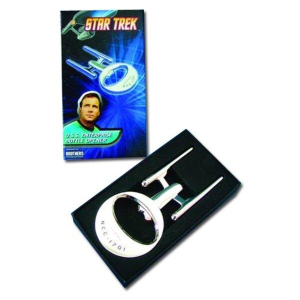 Star Trek TOS décapsuleur USS Enterprise NCC-1701 13 cm