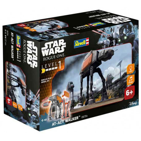 Star Wars Rogue One maquette Build Play sonore et lumineuse AT-ACT 22 cm