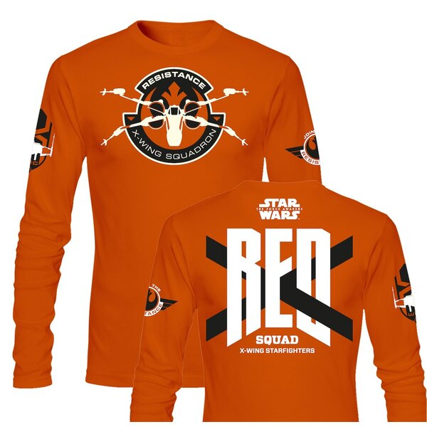 Star Wars Episode VII t-shirt manches longues RED Squad