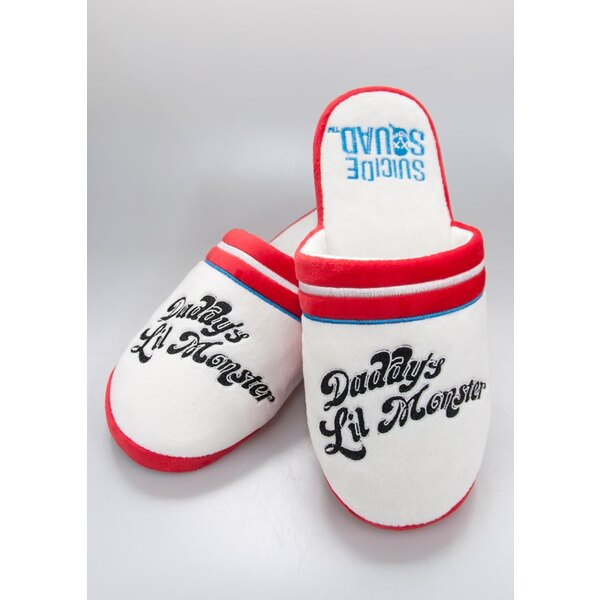 Suicide Squad chaussons Harley Quinn Daddy