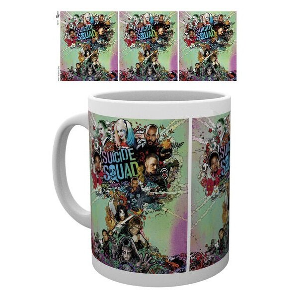 Suicide Squad mug One Sheet