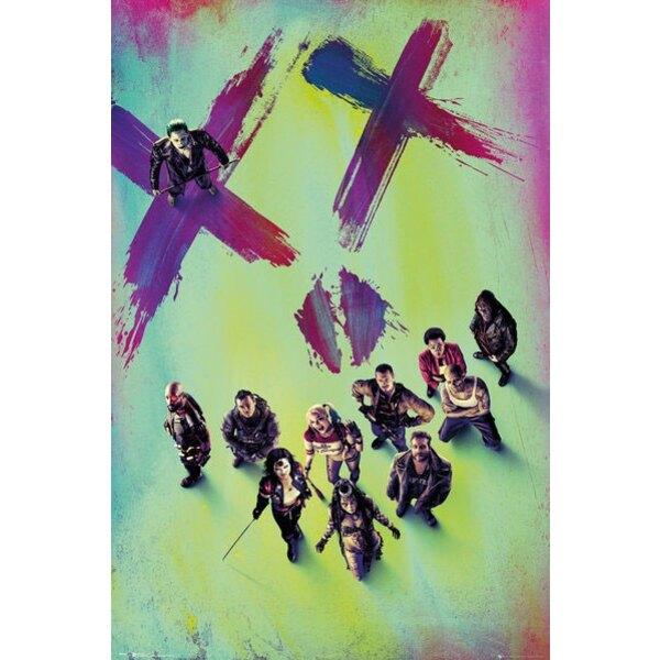 Suicide Squad présentoir posters 61 x 91 cm (35)