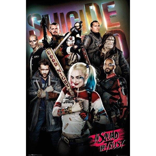 Suicide Squad présentoir 2 posters 61 x 91 cm (35)