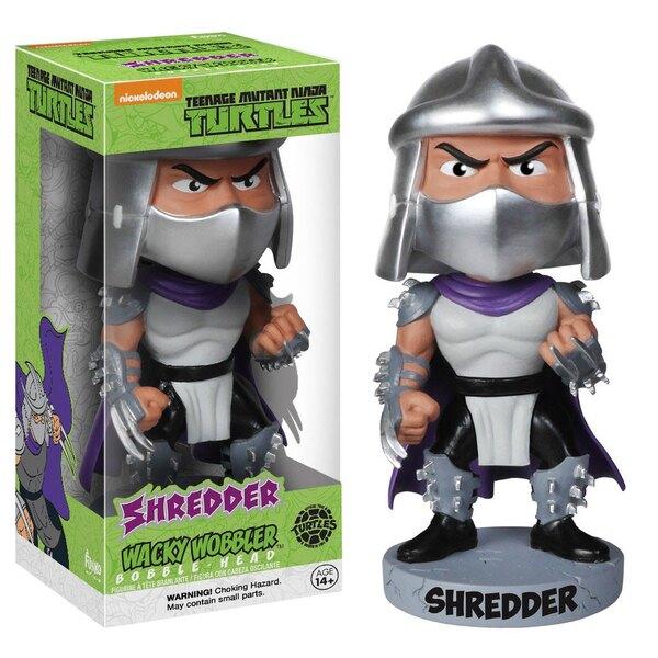 Tortues Ninja Wacky Wobbler Bobble Head Shredder 15 cm