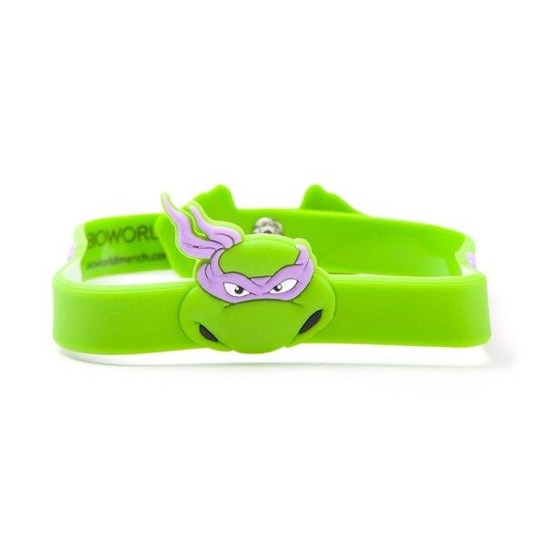 Les Tortues Ninja bracelet caoutchouc Donatello