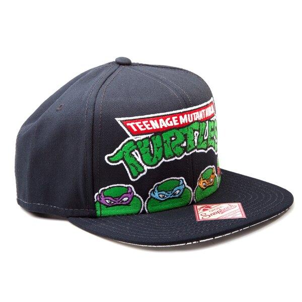 Les Tortues Ninja casquette hip hop Snap Back 4 Turtles