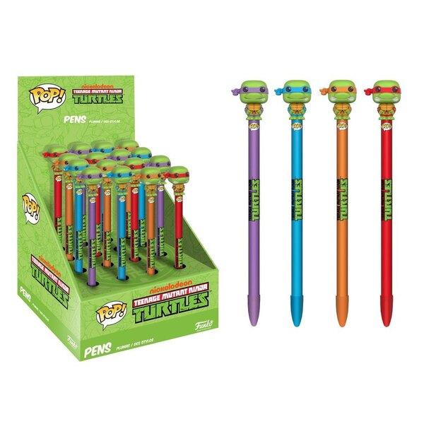 Les Tortues Ninja POP! Homewares présentoir stylos à bille avec embouts (16)