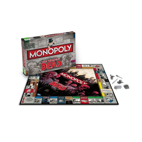 Walking Dead jeu de plateau Monopoly *FRANCAIS*