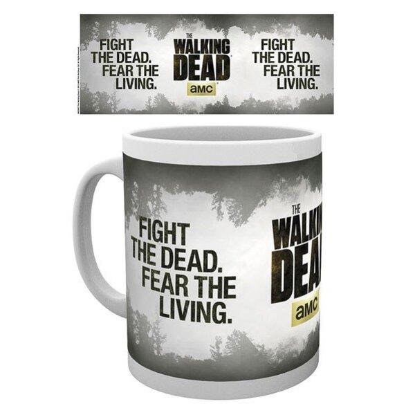 Walking Dead mug Fight the Dead