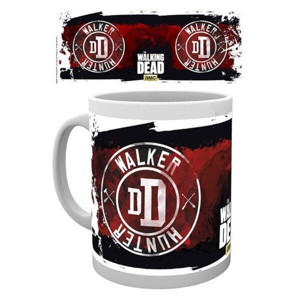 Walking Dead mug Patch