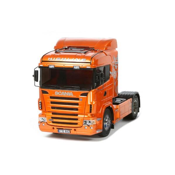 Scania R470 orange
