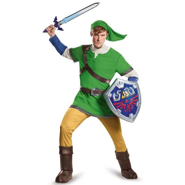 Legend of Zelda déguisement adulte Deluxe Link
