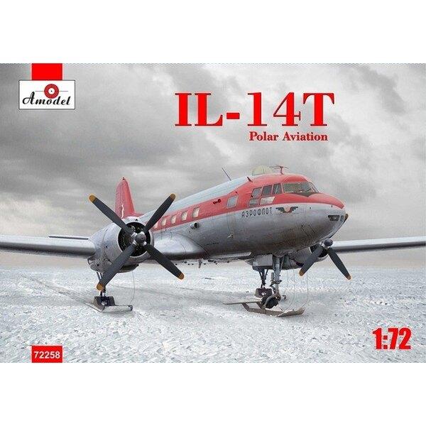 Ilyushin Il-141058 - Crate expédition polaire sur de ski (les roues sont également inclus)