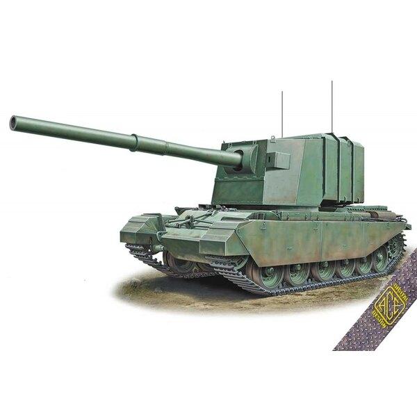 183mm FV-4005 sur la coque Centurion