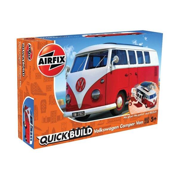 VW Camper Van BUILD QUICK (Pas de colle ou de peinture nécessaire)