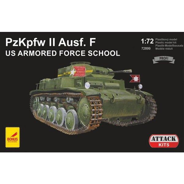 Pz.Kpfw.II Ausf.F Capturé