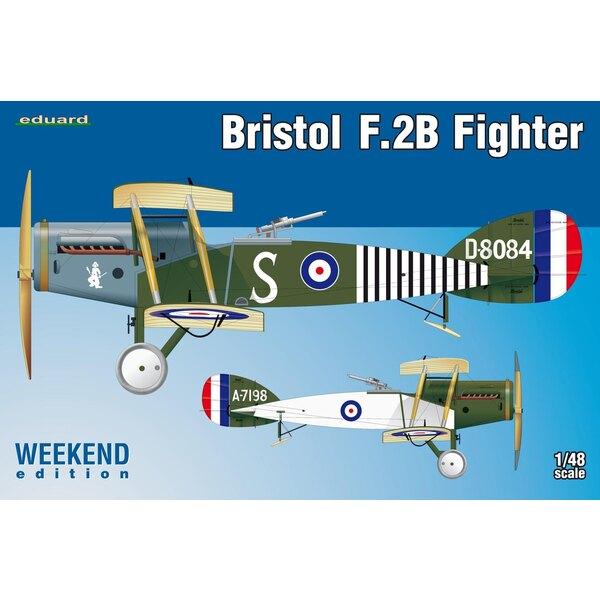 Bristol Fighter F.2B Eduard, autocollants imprimés par Eduard, 2 options de marquage.NO PE, pas de masque, pas de résine inclus