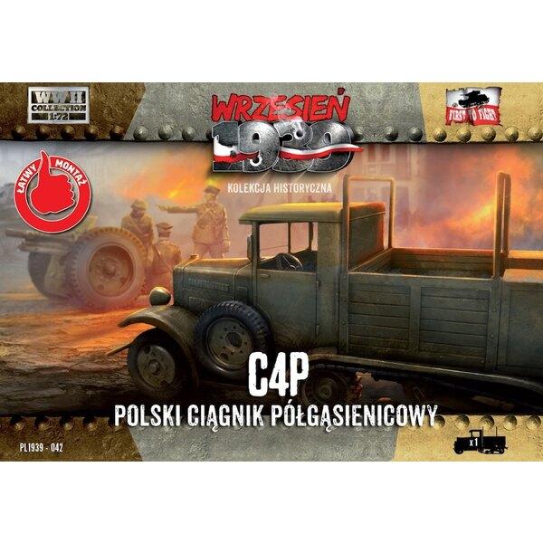 C4P polonais Halftrack artillerie Tracteur