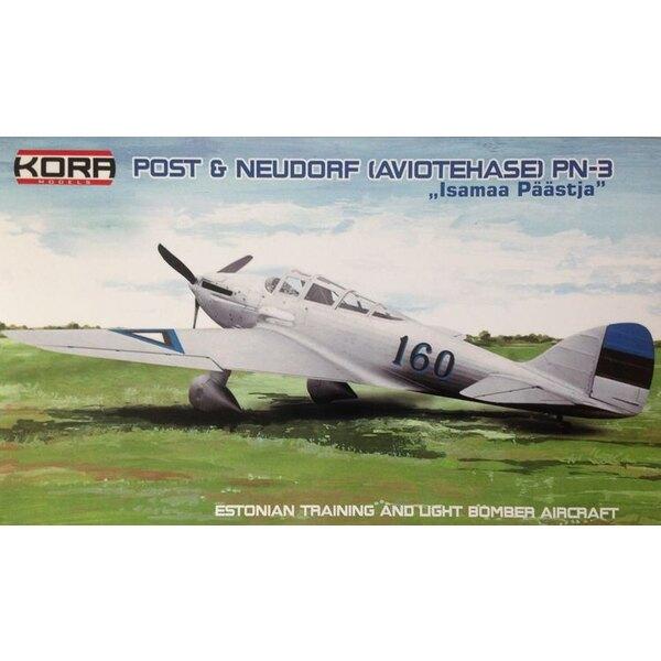 Post et PN-Neudorf 3 Estonie bombardier léger