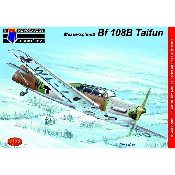 Messerschmitt Bf-108B En service Axis (ex kit Fly avec de nouvelles pièces d'injection pour remplacer les pièces en résine)