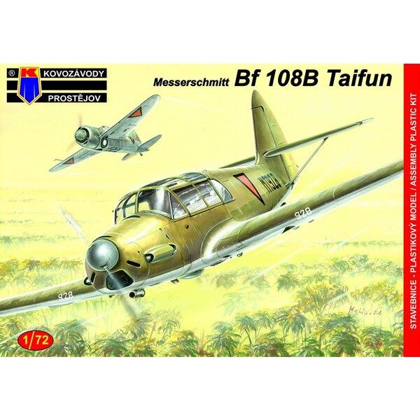 Messerschmitt Bf-108B En service extérieur (ex kit Fly avec de nouvelles pièces d'injection pour remplacer les pièces en résine)