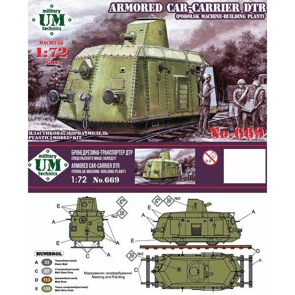 Véhicule blindé - CARRIER DTR - (usine de construction de machines-Podolsk)