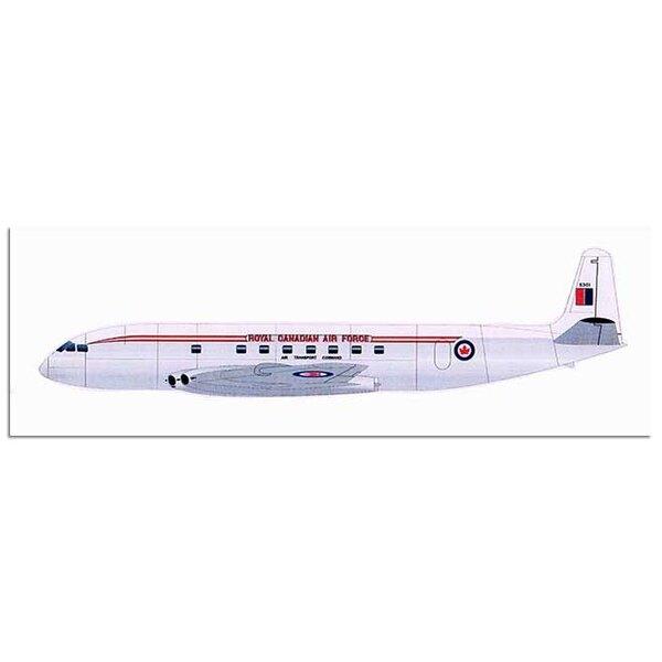 de Havilland DH.106 1A - choix de décalque double ARC - fuselage vacform - reste du kit est réalisé en résine moulée sous pressi