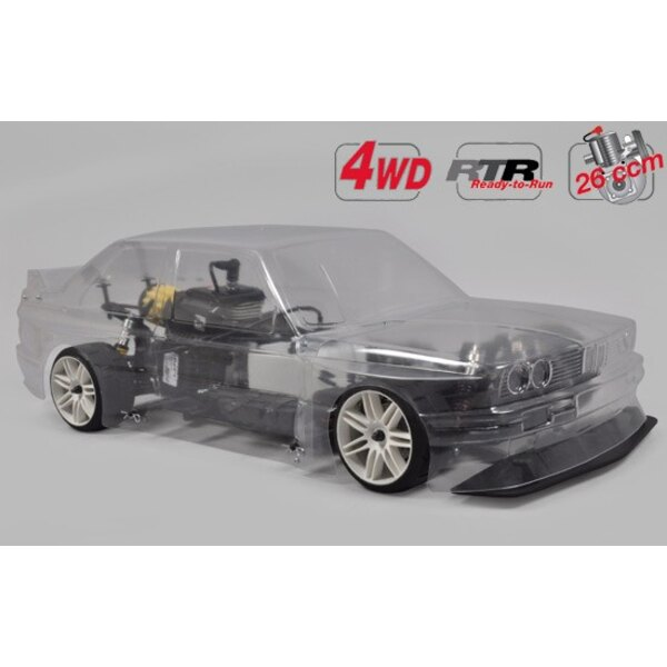 Chassis 4wd 510 RTR + carro BMW E30