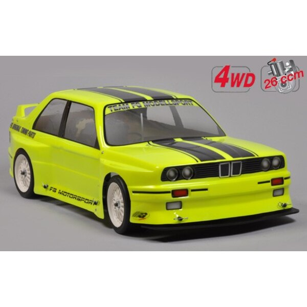 Chassis Drift 4wd + carro. BMW E30