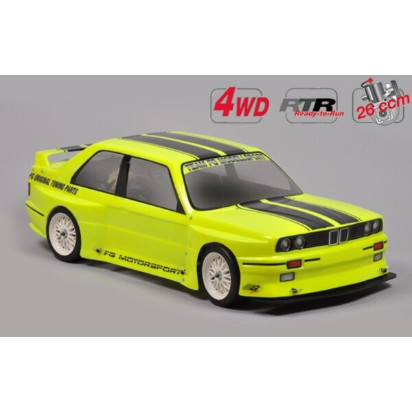 Chassis Drift 4wd RTR + carro. E30