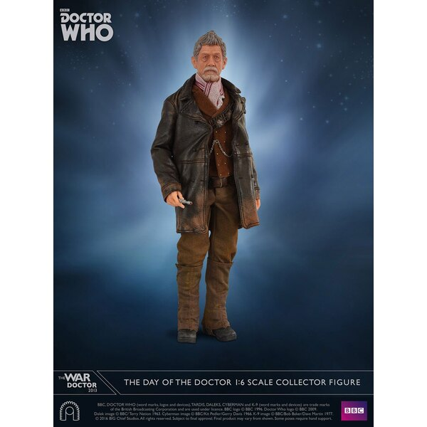 Doctor Who figurine 1/6 Collector Figure Series The War Doctor 30 cm