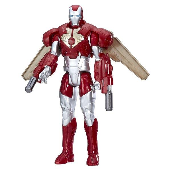 Avengers Titan Hero Series figurine Combat Gear Iron Man 30 cm
