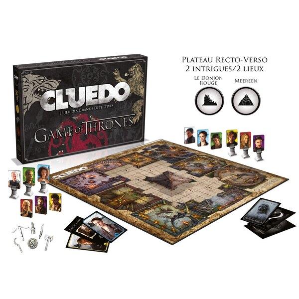 Le Trône de fer jeu jeu de plateau Cluedo *FRANCAIS*