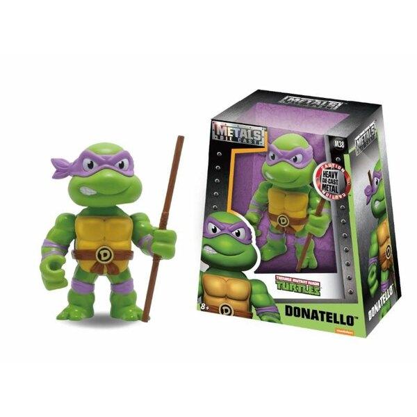 Les Tortues Ninja Metals figurine Diecast Donatello 10 cm